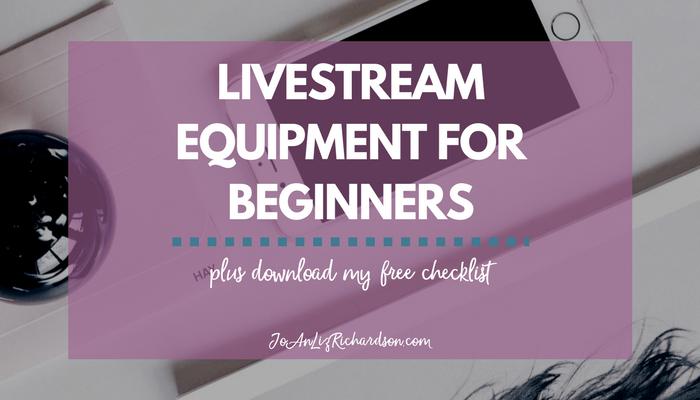 Livestream Equipment for Beginners