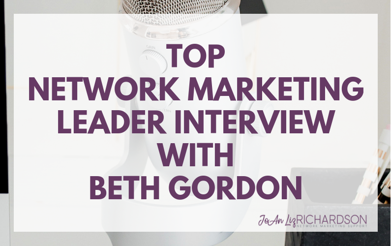 Top Leader Interview with Beth Gordon
