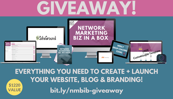 Network Marketing Biz in a Box Giveaway!