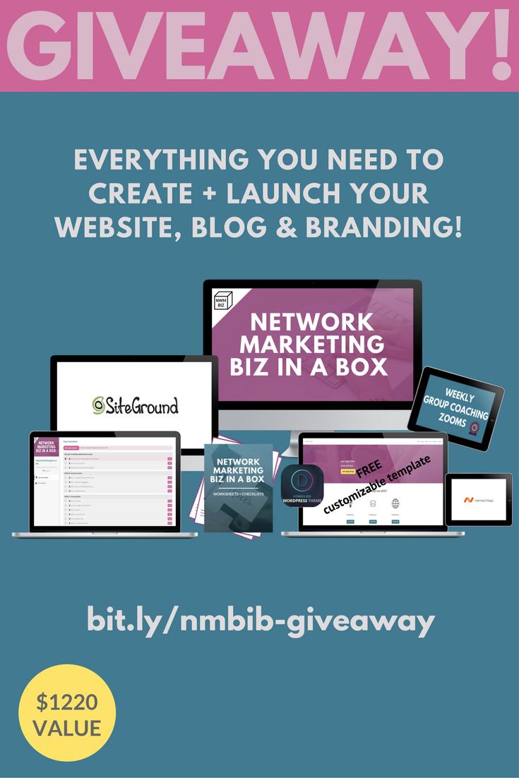 Website Blog Giveaway
