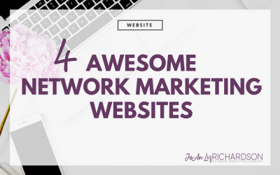 4 Awesome Examples of Network Marketing Websites